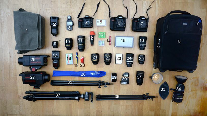 Nikon Kit list Mark Seymour
