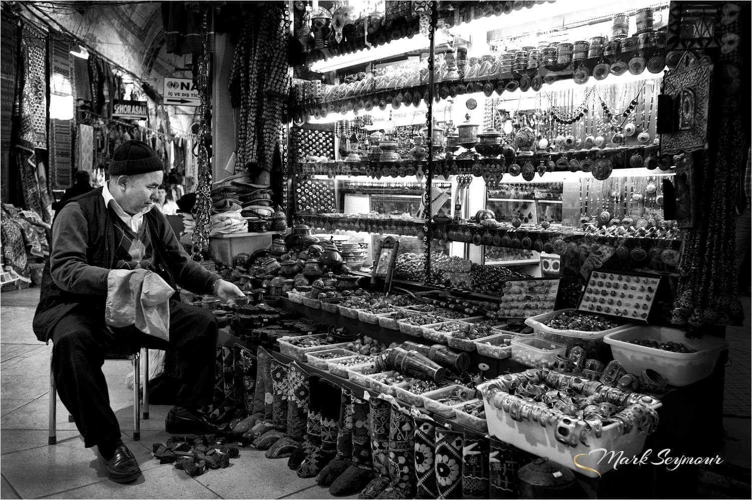 Photographing the markets in Istanbul