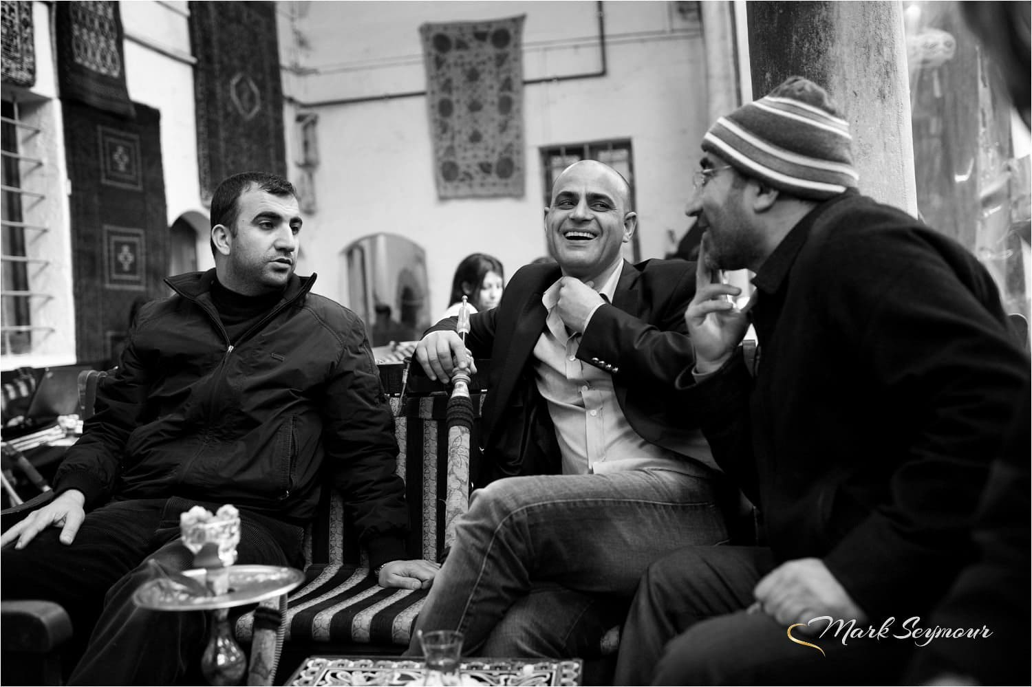 Card players in Istanbul