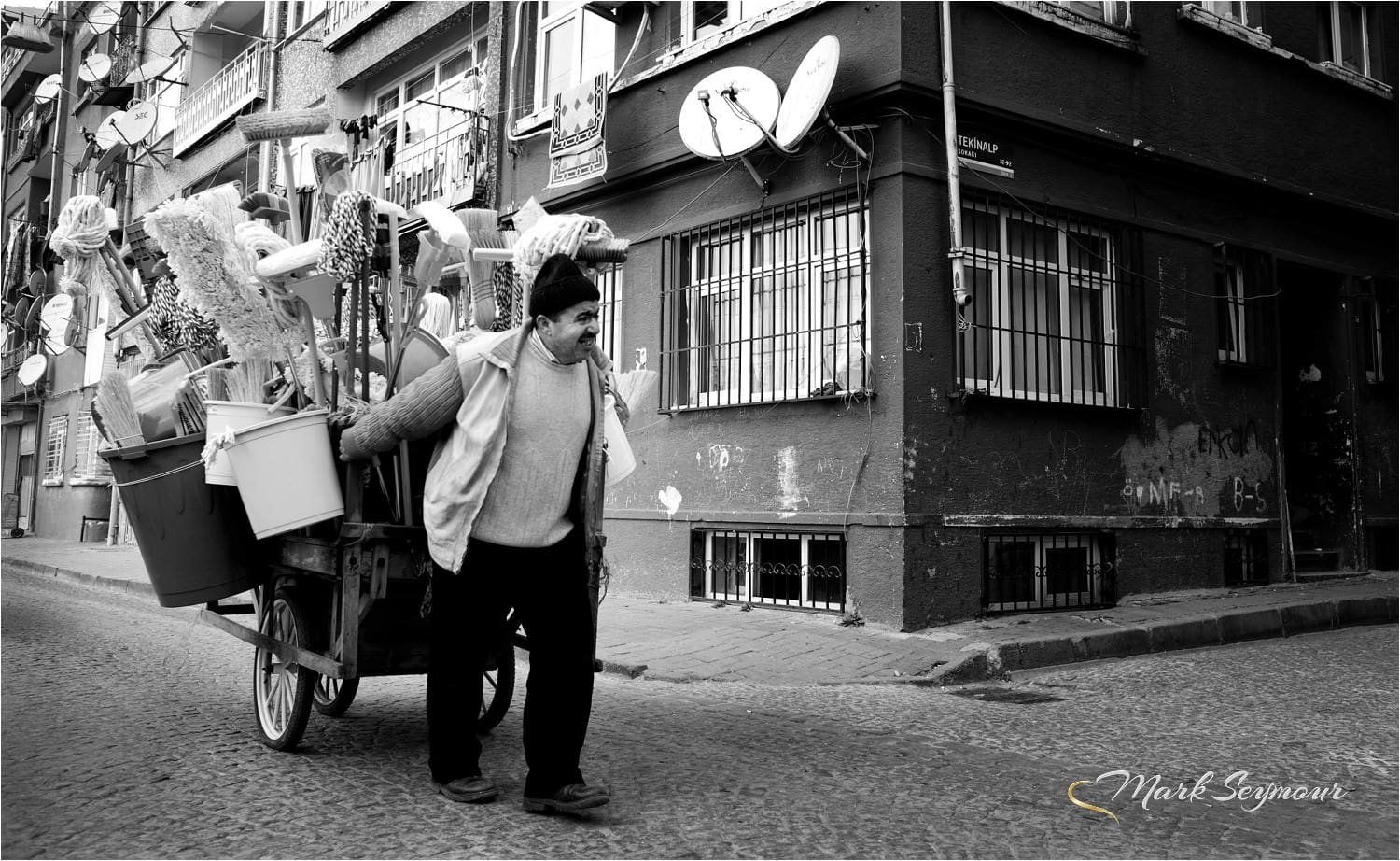 Street trader in Istanbul