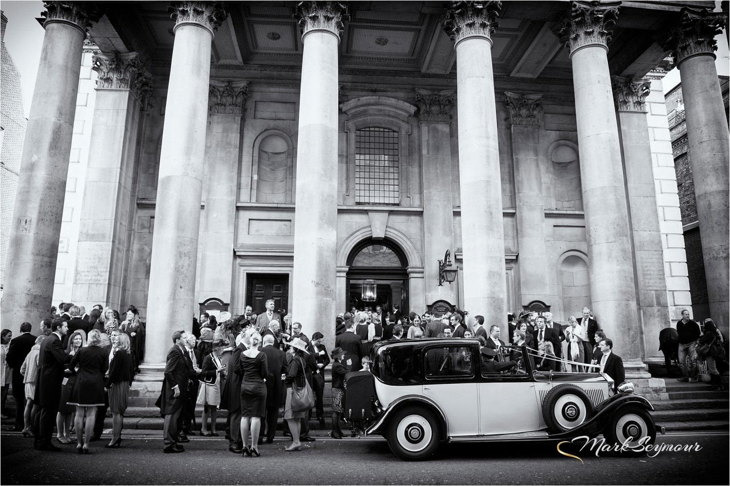 A society wedding in London Town