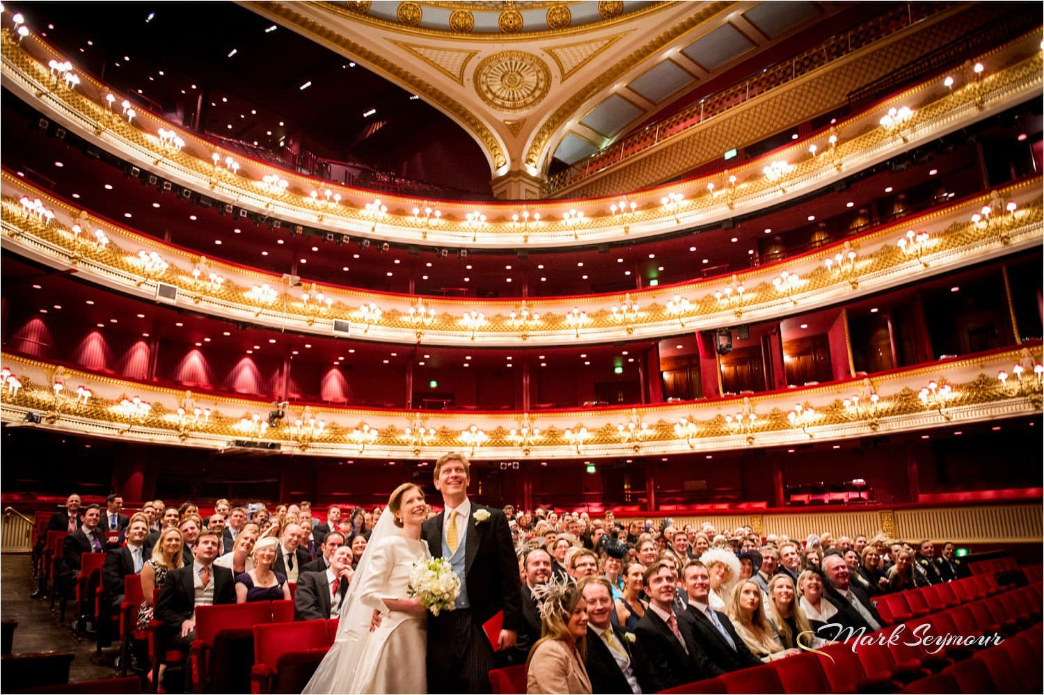 The Royal Opera House wedding