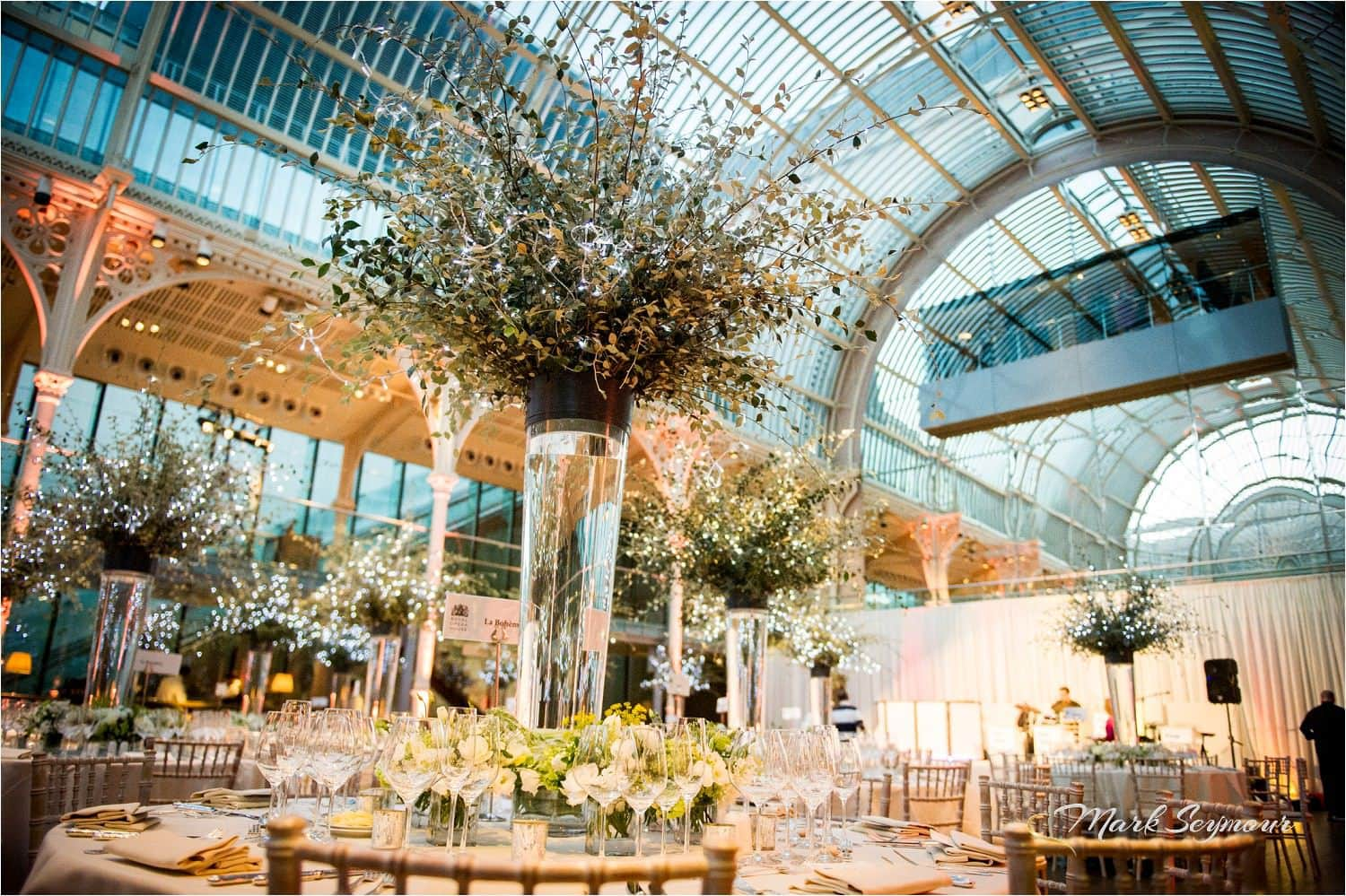 Royal Opera House wedding reception