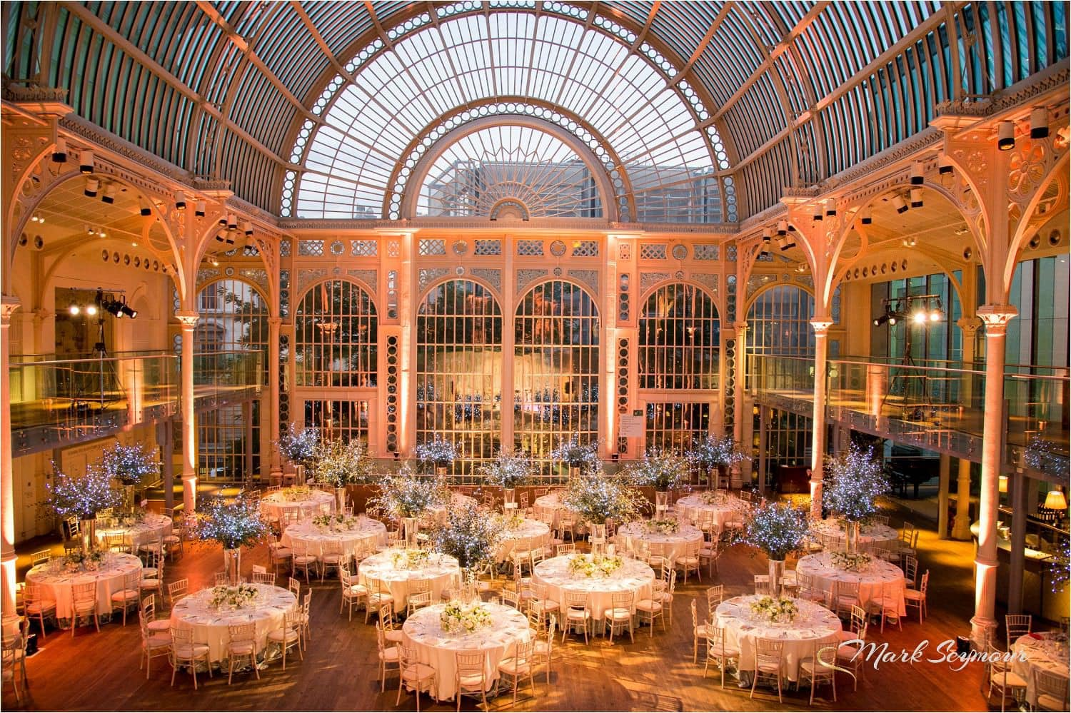 wedding reception at Royal Opera House