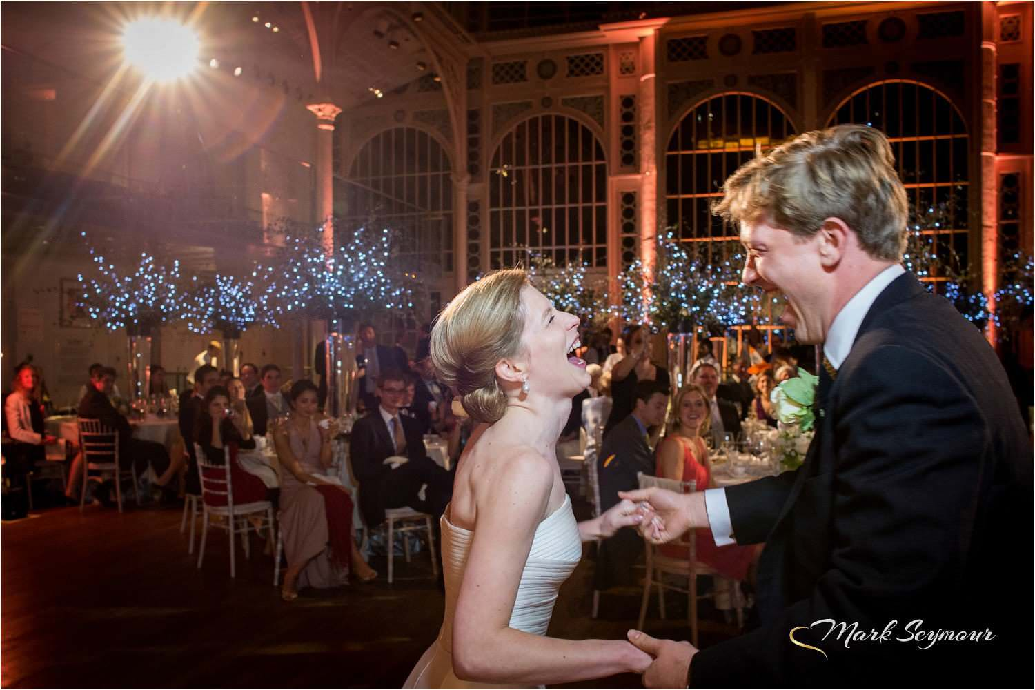Dancing at a Royal Opera House wedding