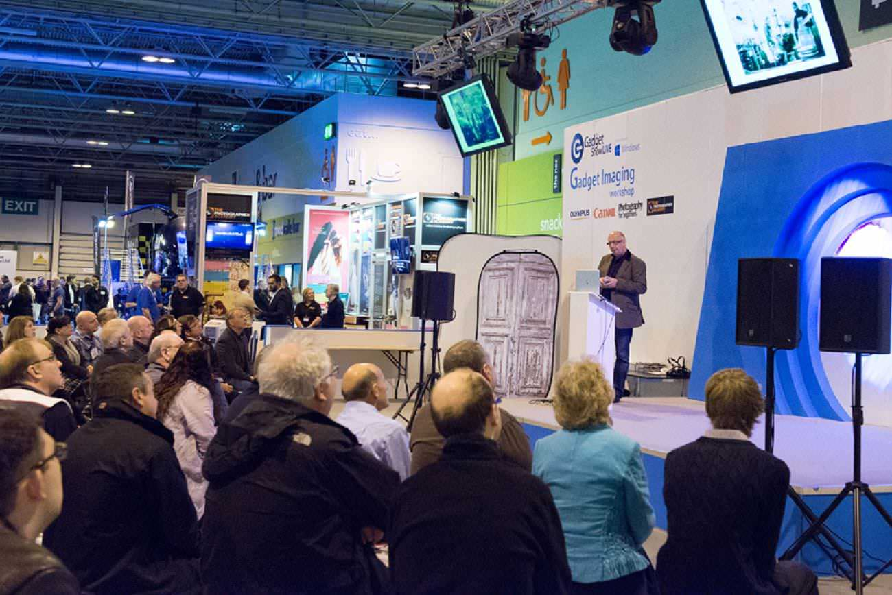 Mark Seymour presenting at The Gadget Show