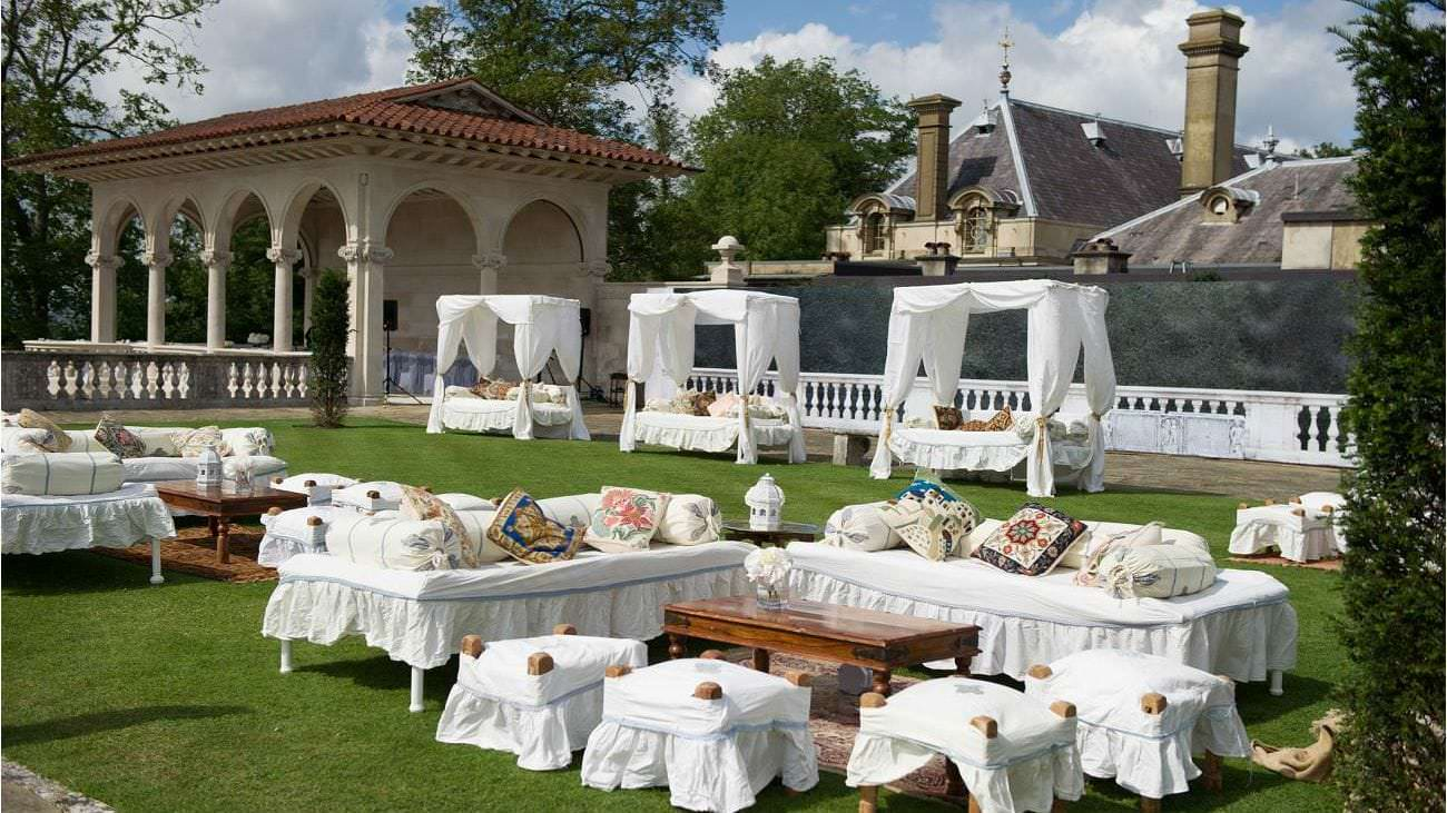 Afternoon tea wedding at Cliveden House