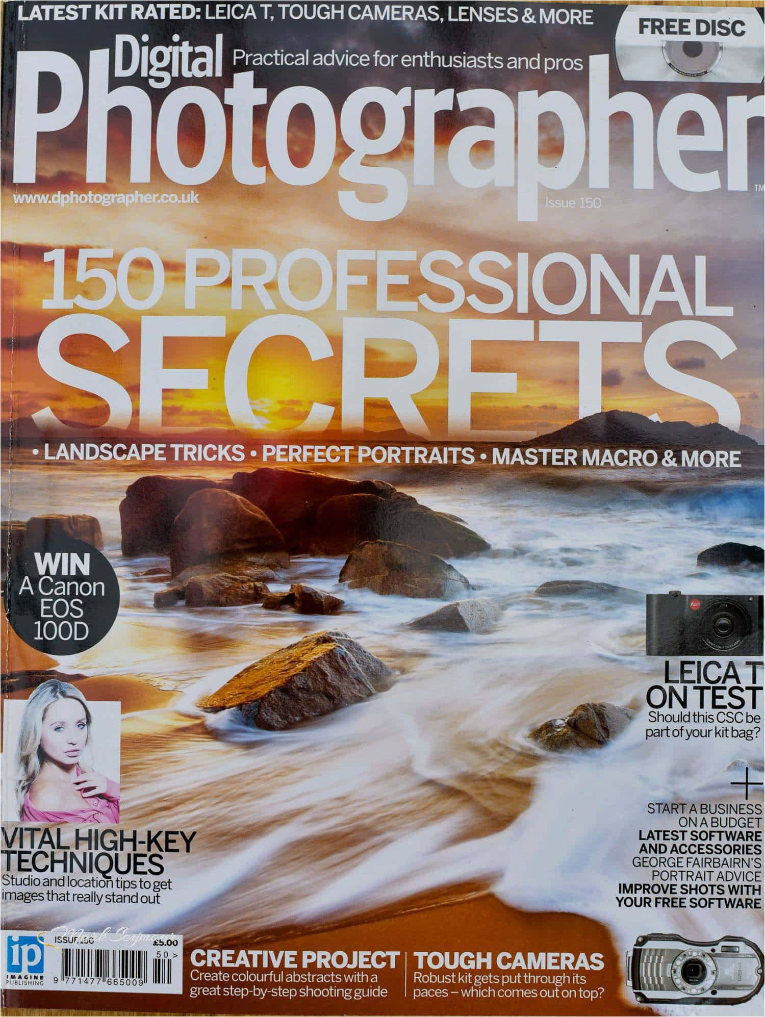 Digital Photographer with Mark Seymou