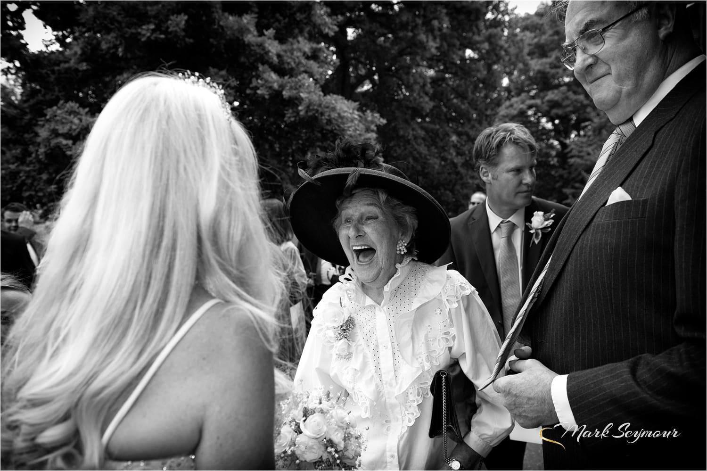 brides mum at the wedding