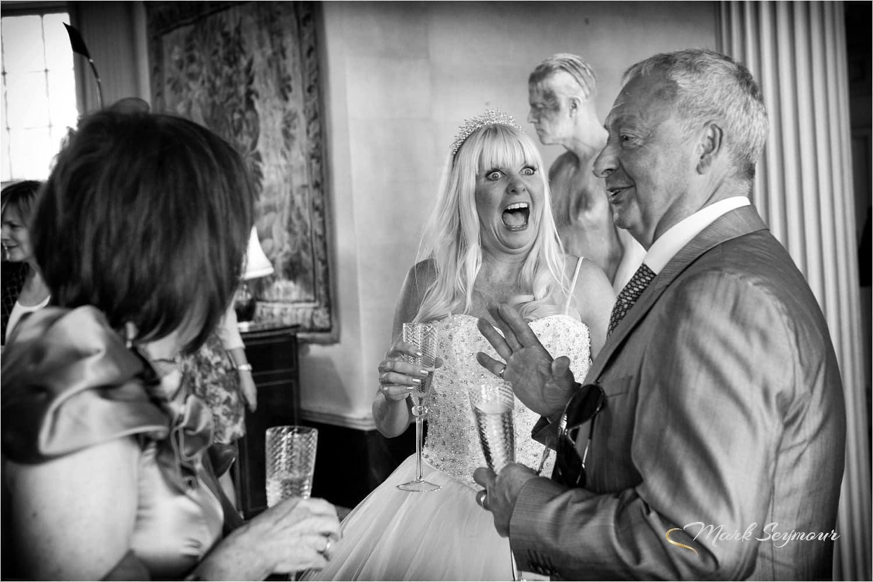 Big fun at our wedding