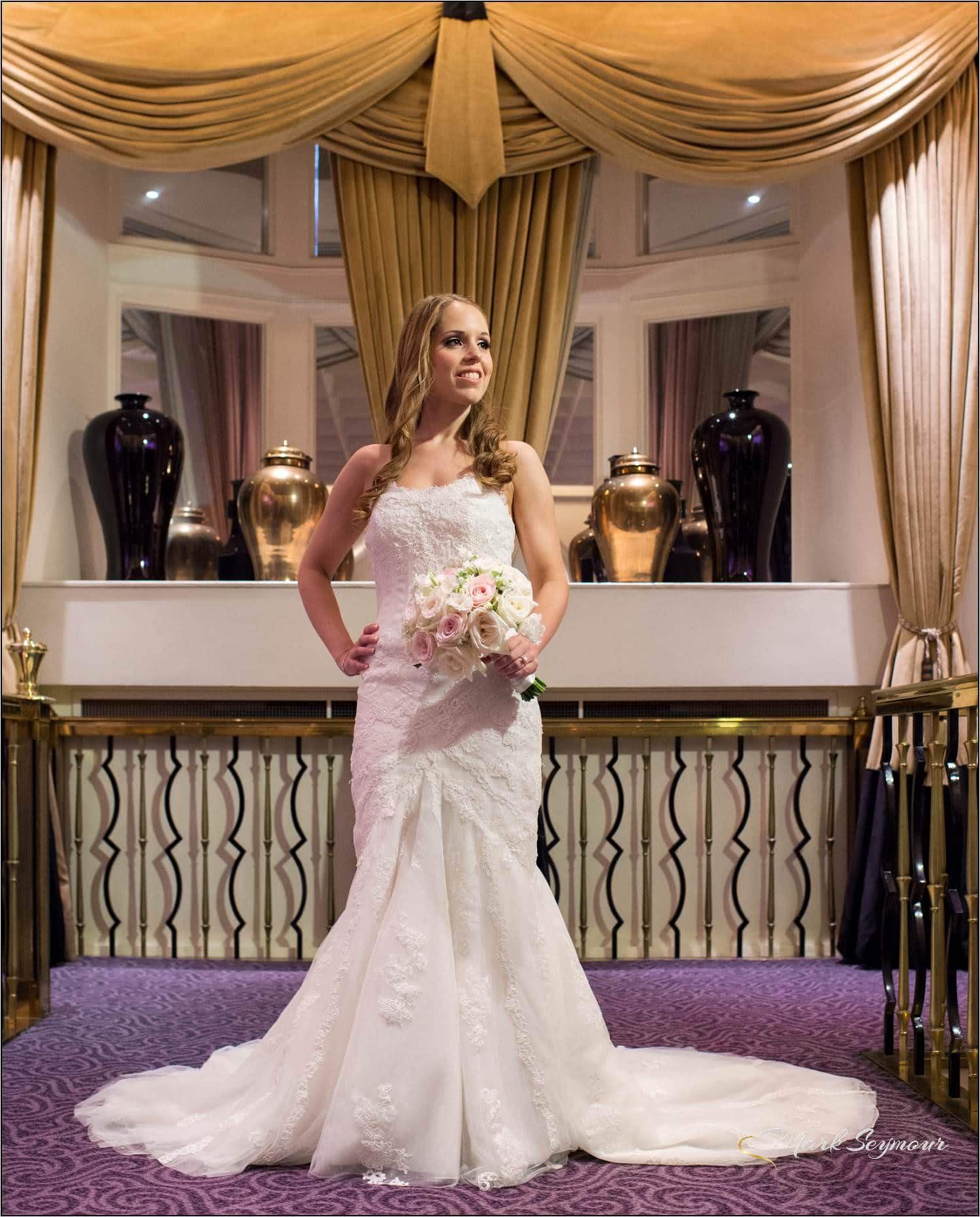 Bride at The Savoy