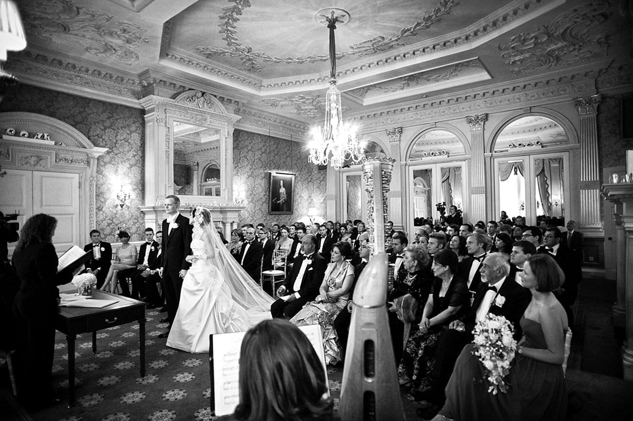 Claridges Wedding Photography - Mark Seymour Photography