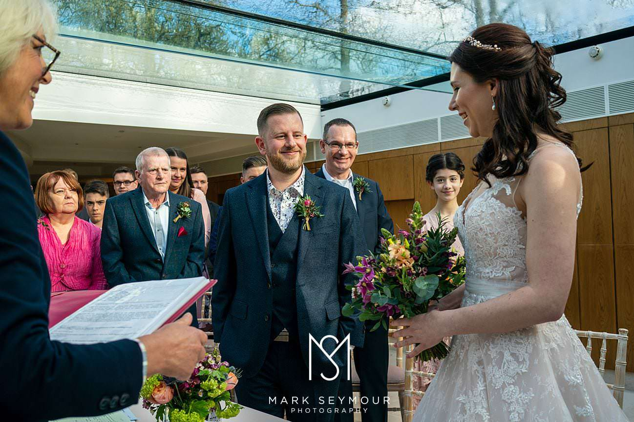 Le Manoir wedding ceremony