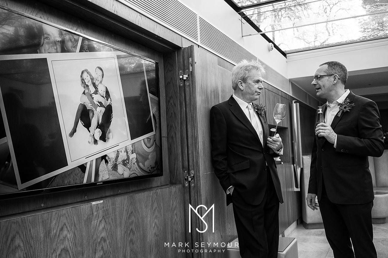 Brides dad at Le Manoir