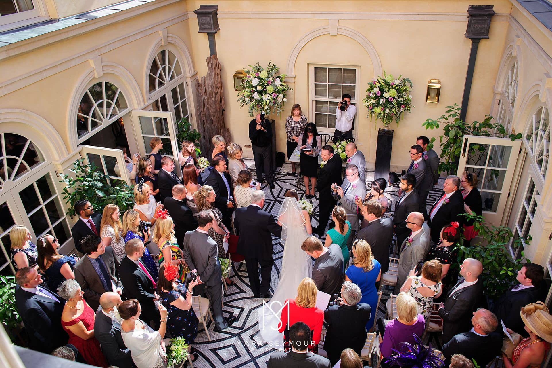 Wedding Ceremony at The Limewood Hotel