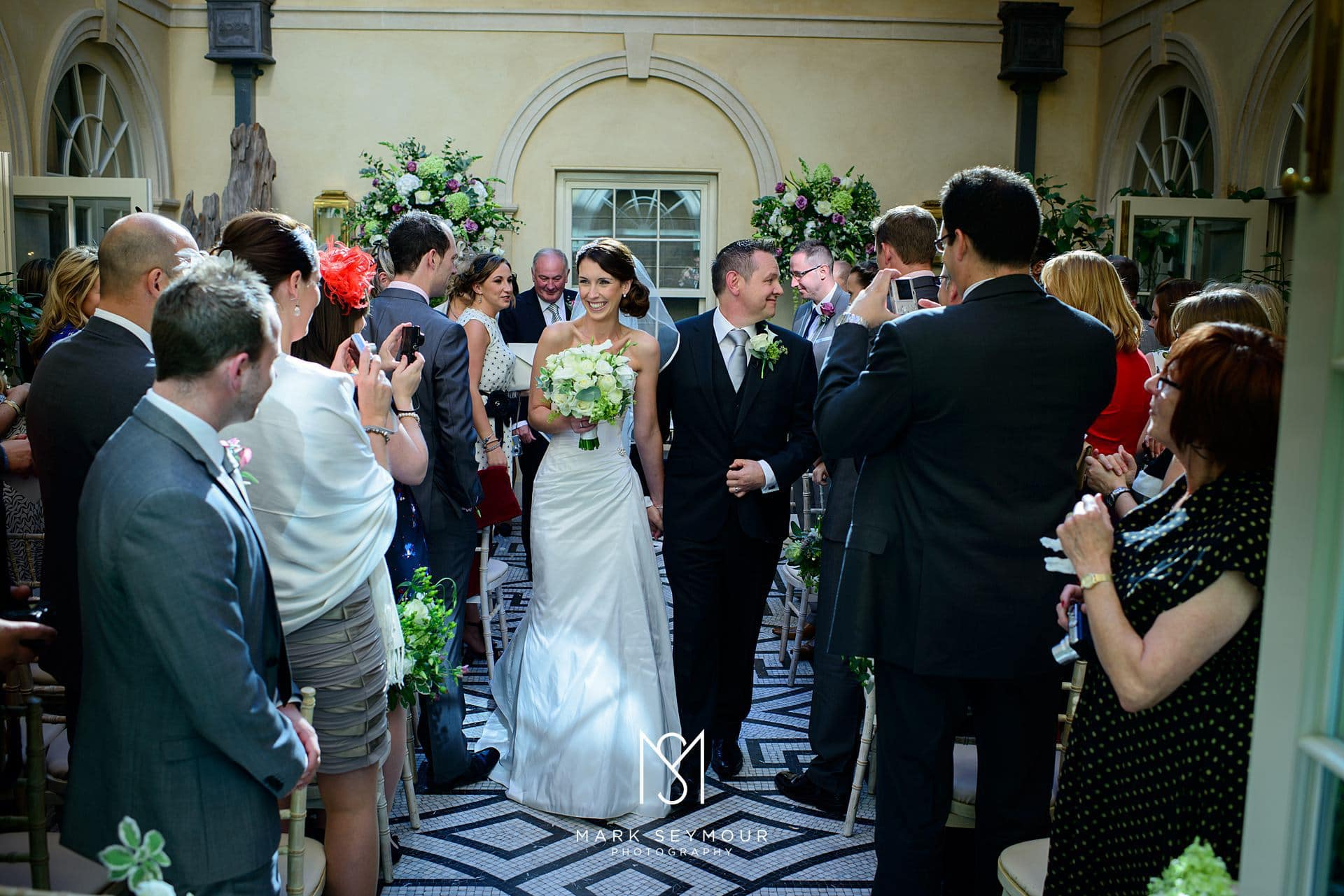 Bride and Groom just married at The Limewood Hotel