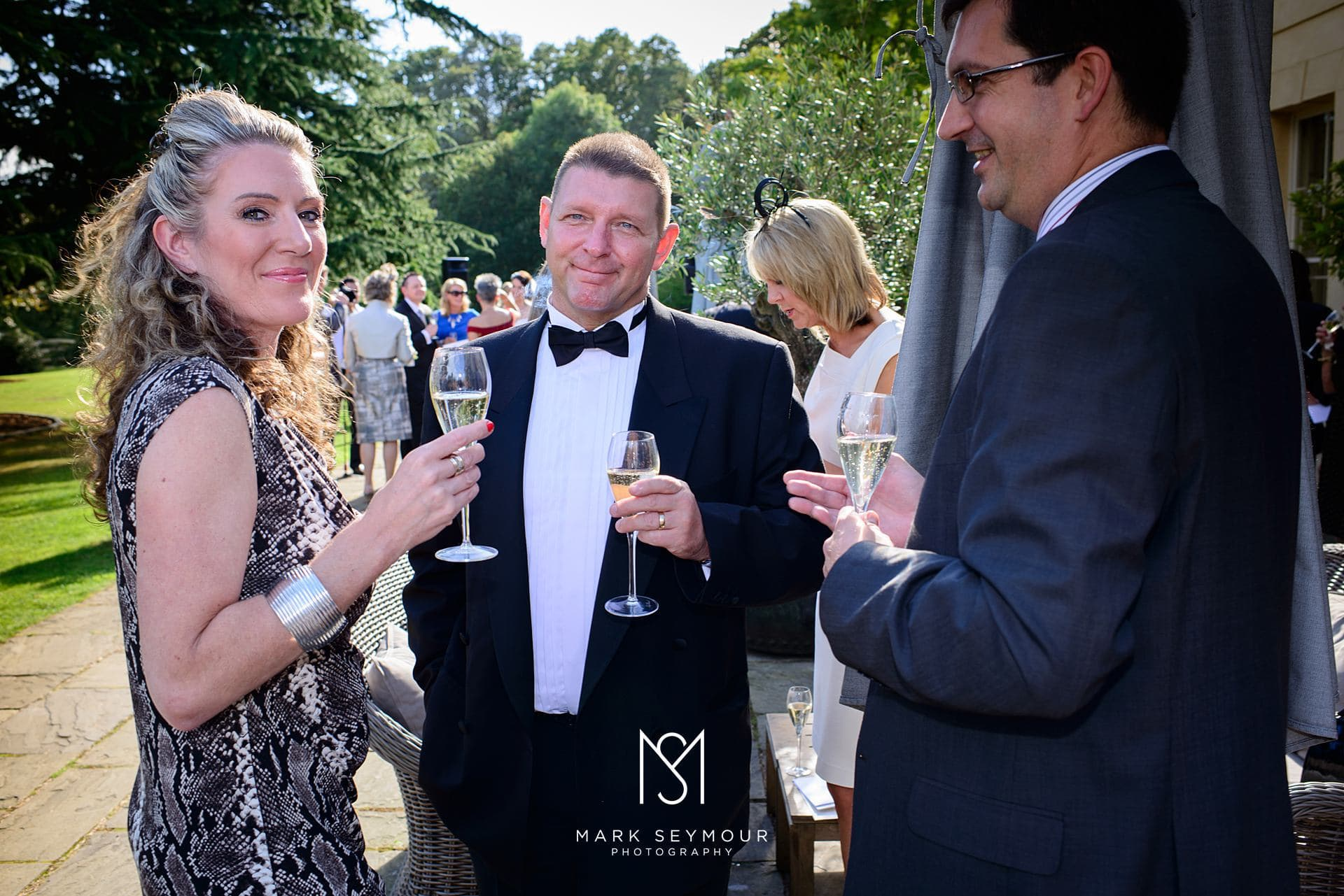 Wedding reception at The Limewood Hotel