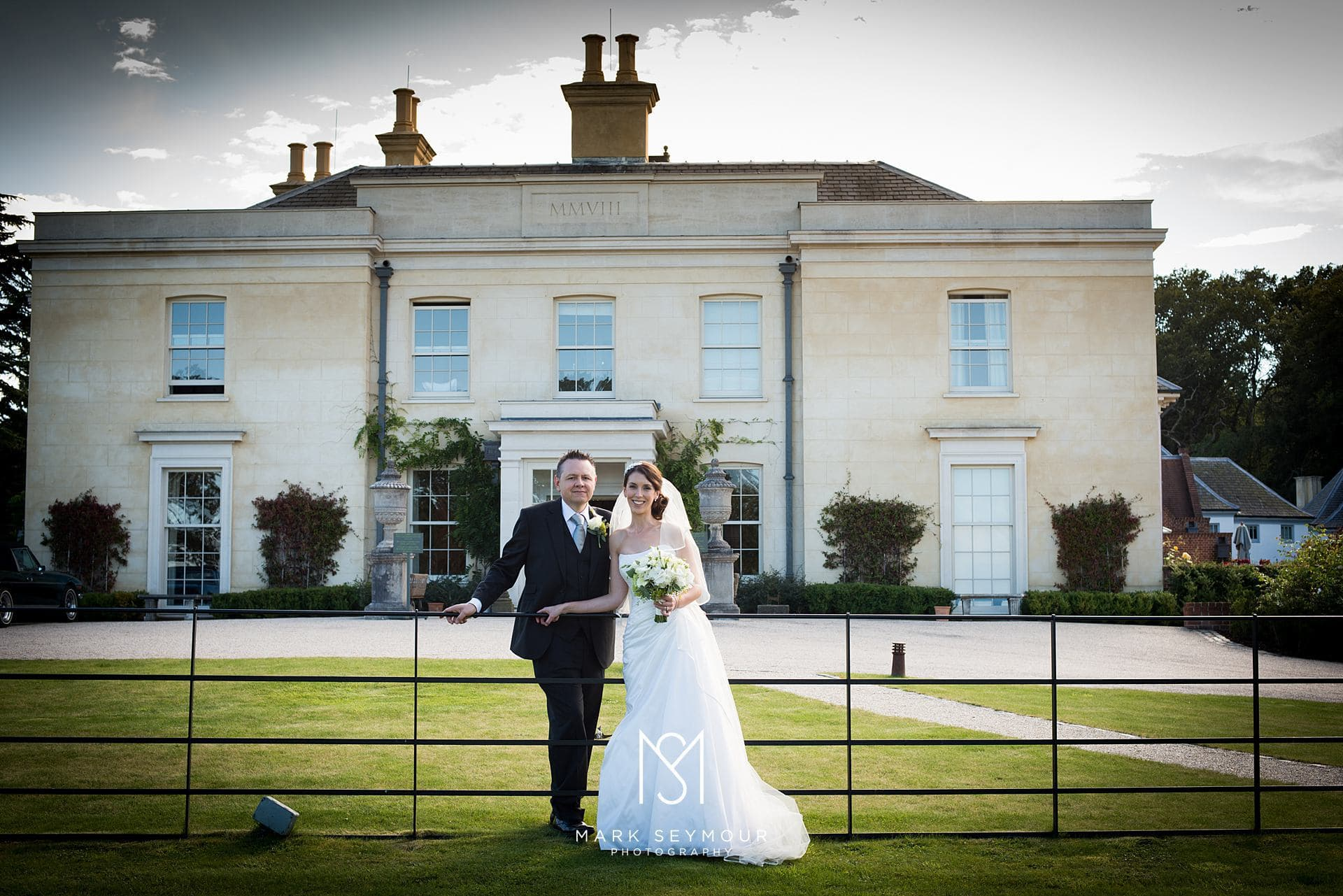 Bride and Groom at The Limewood Hotel