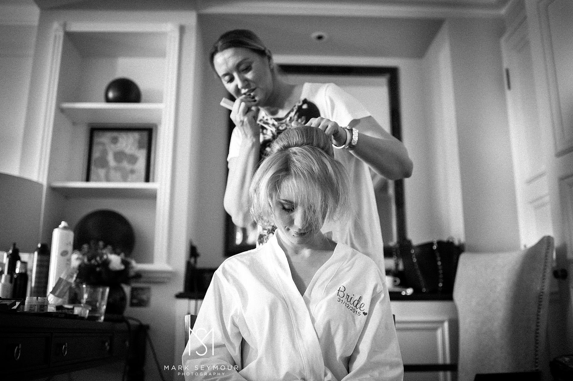 Bridal Hair at The Langham