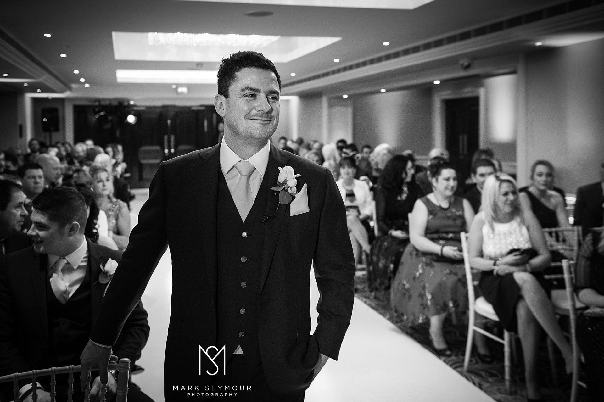 Groom at The Langham