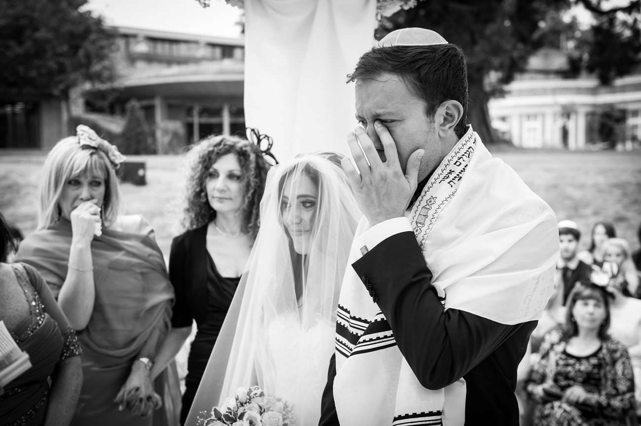 Jewish Wedding photography at The Grove