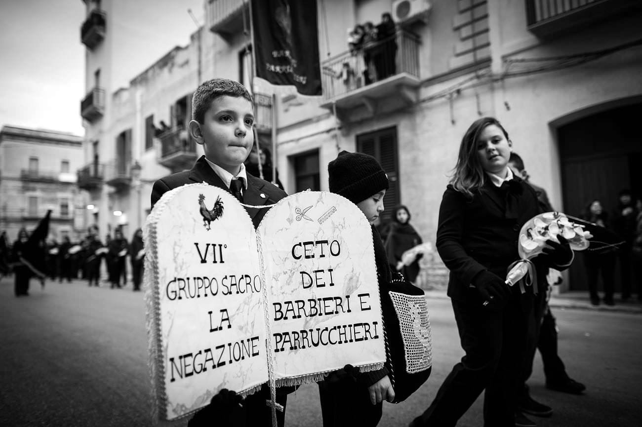 Trapani Misteri Easter Parade - Mark Seymour Photography