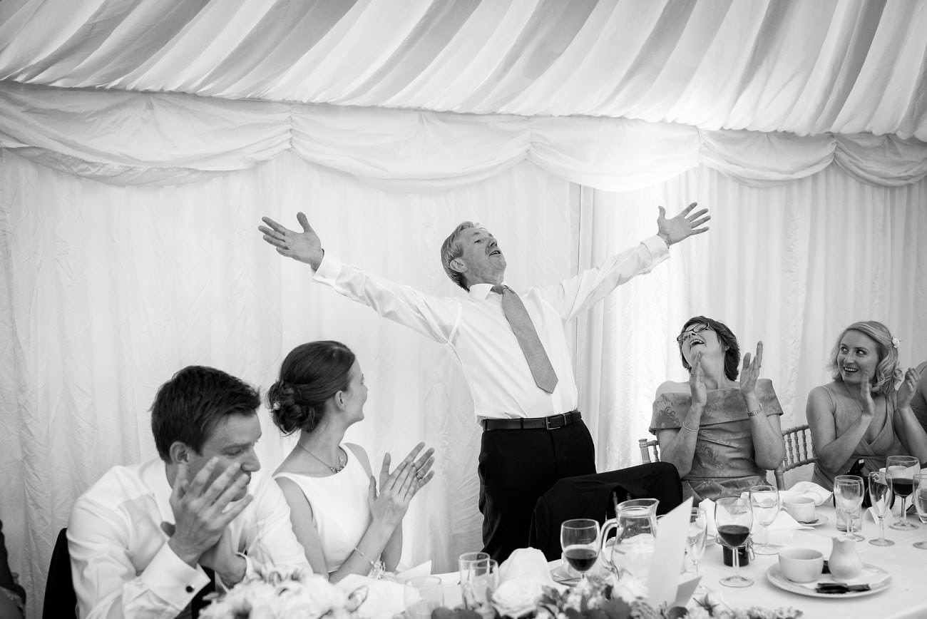 Berkshire Marquee Wedding Photography - Mark Seymour
