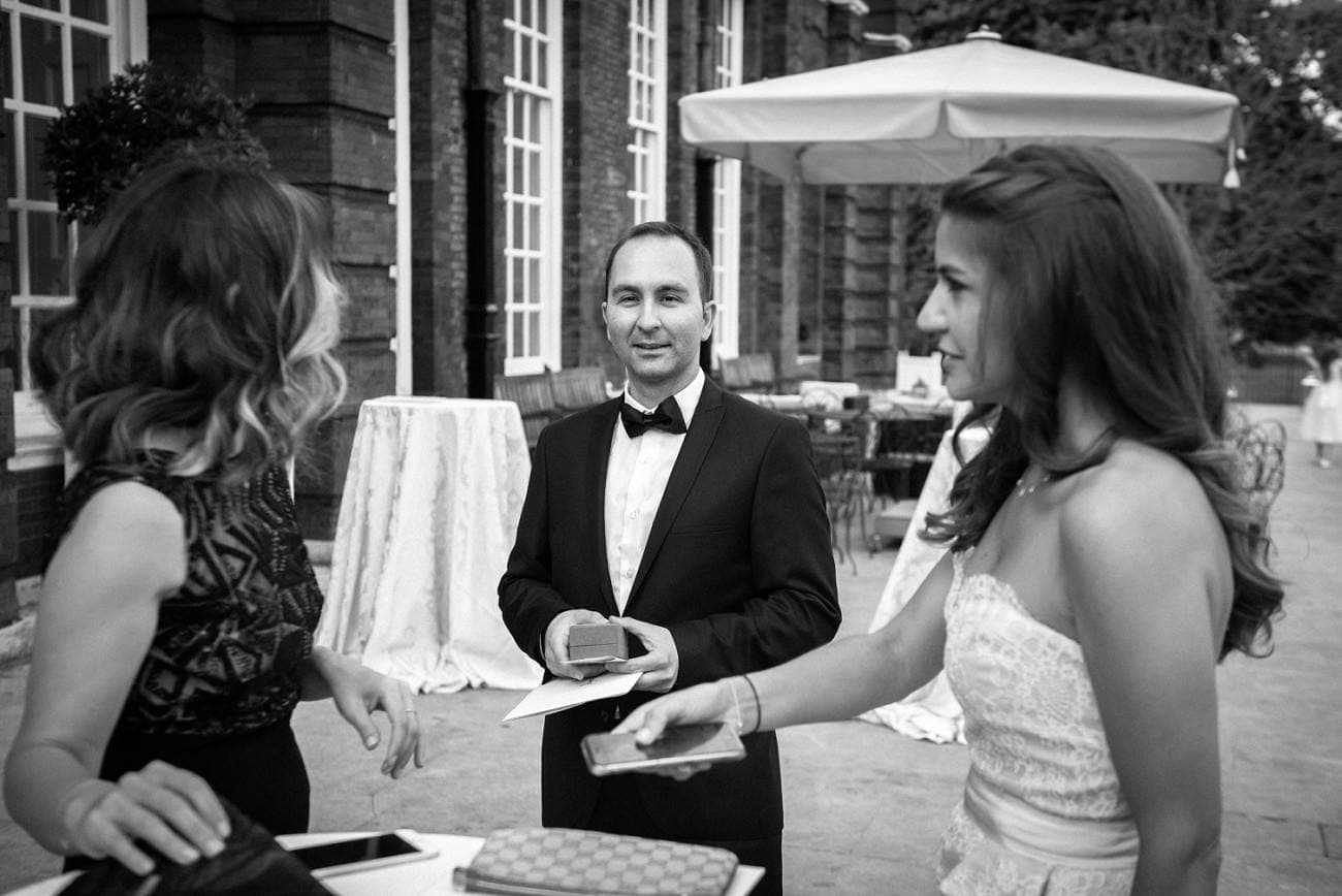 Kensington Palace Wedding Photographer - Mark Seymour