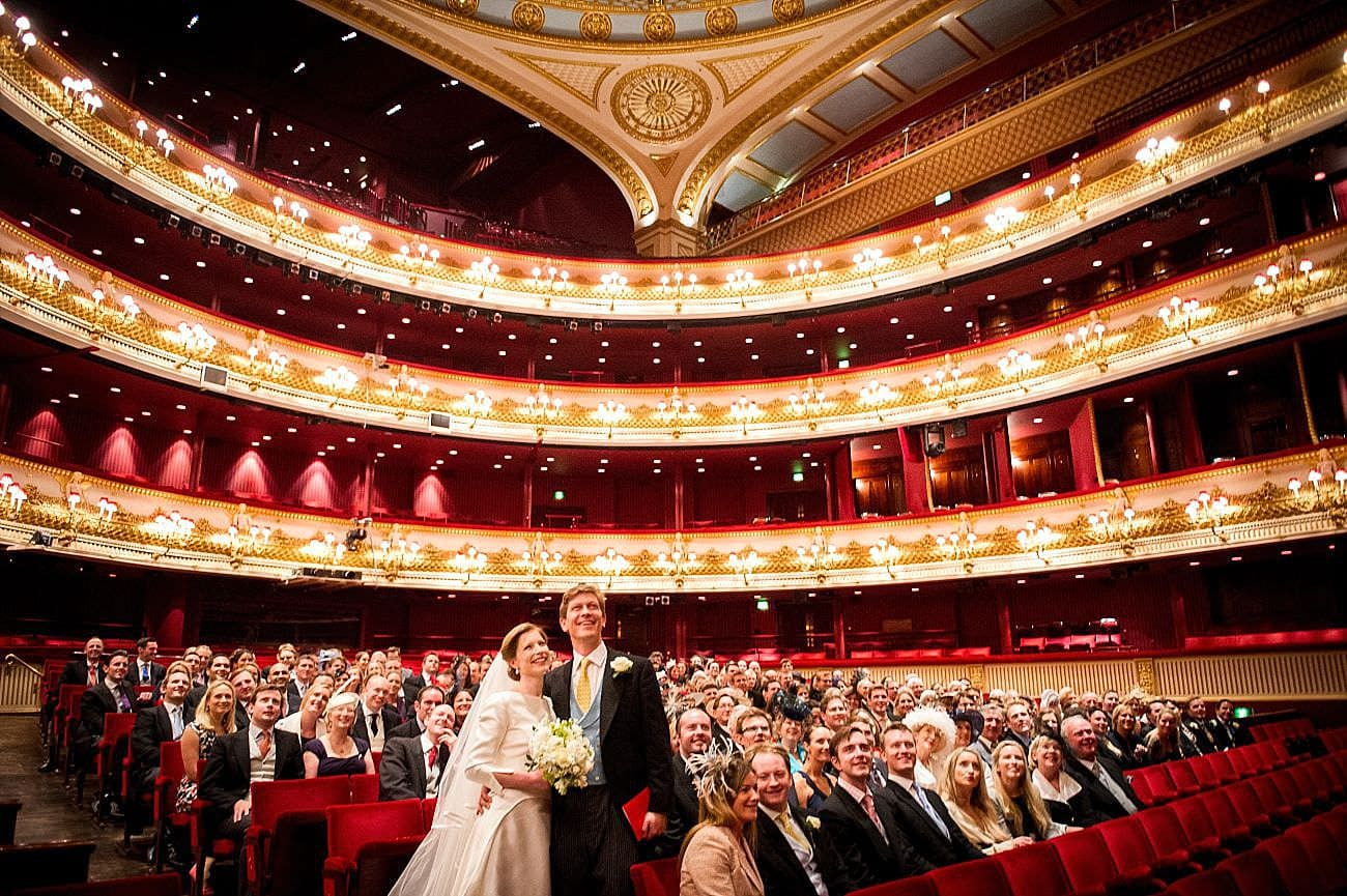 The Royal Opera House Wedding Photography - Mark Seymour