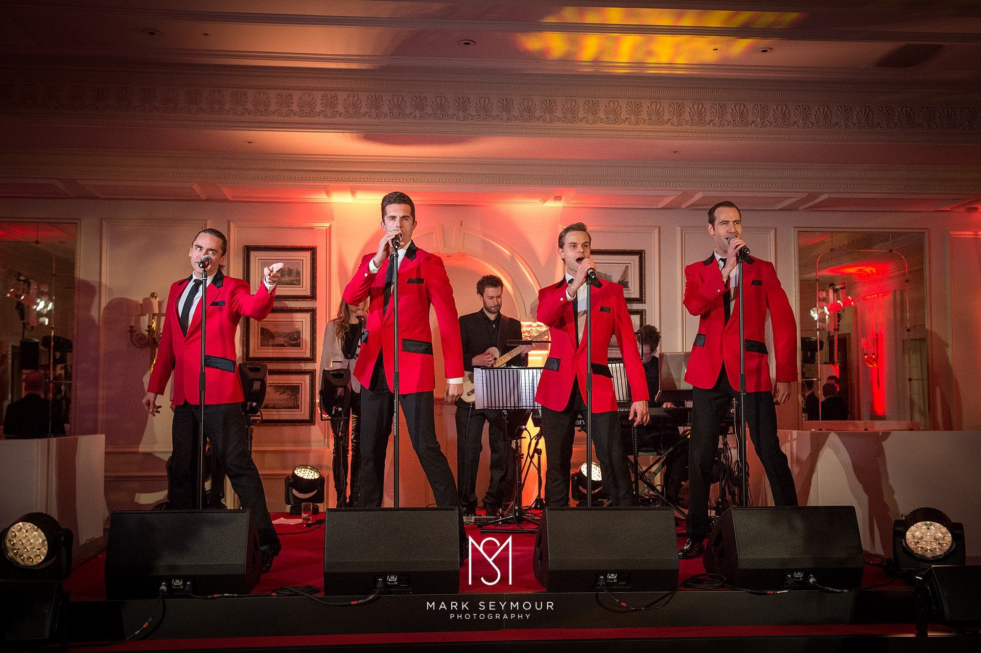 The Jersey Boys at The Savoy
