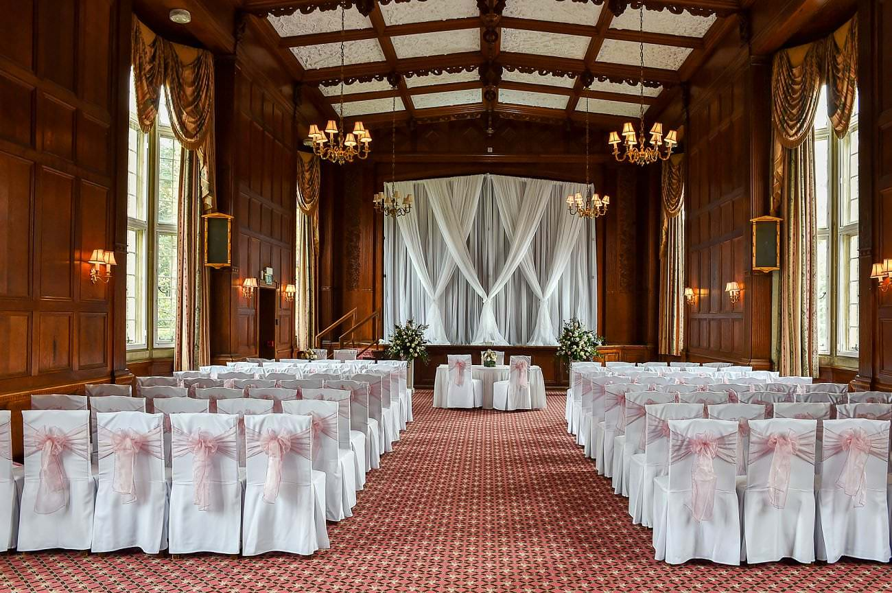Tylney hall Marriage room