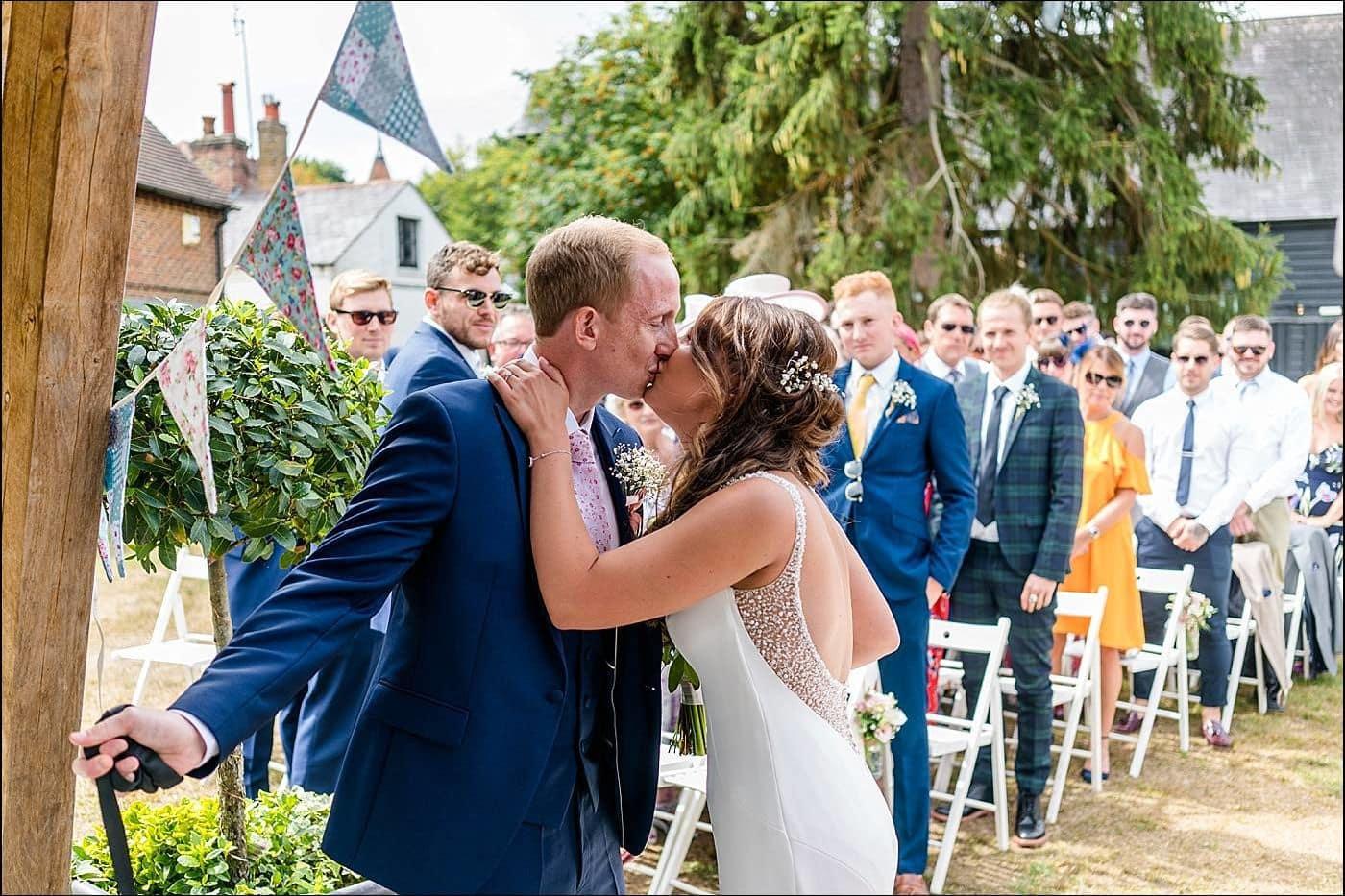 Tudor Barn Wedding Photography 2