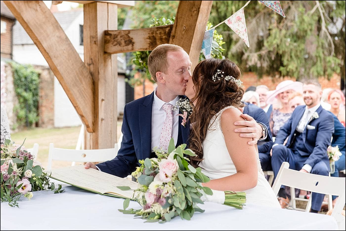 Tudor Barn Wedding Photography 33