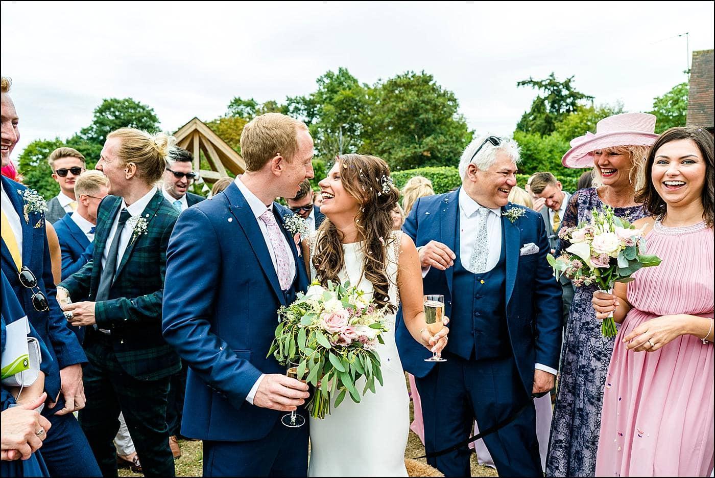 Tudor Barn Wedding Photography 37