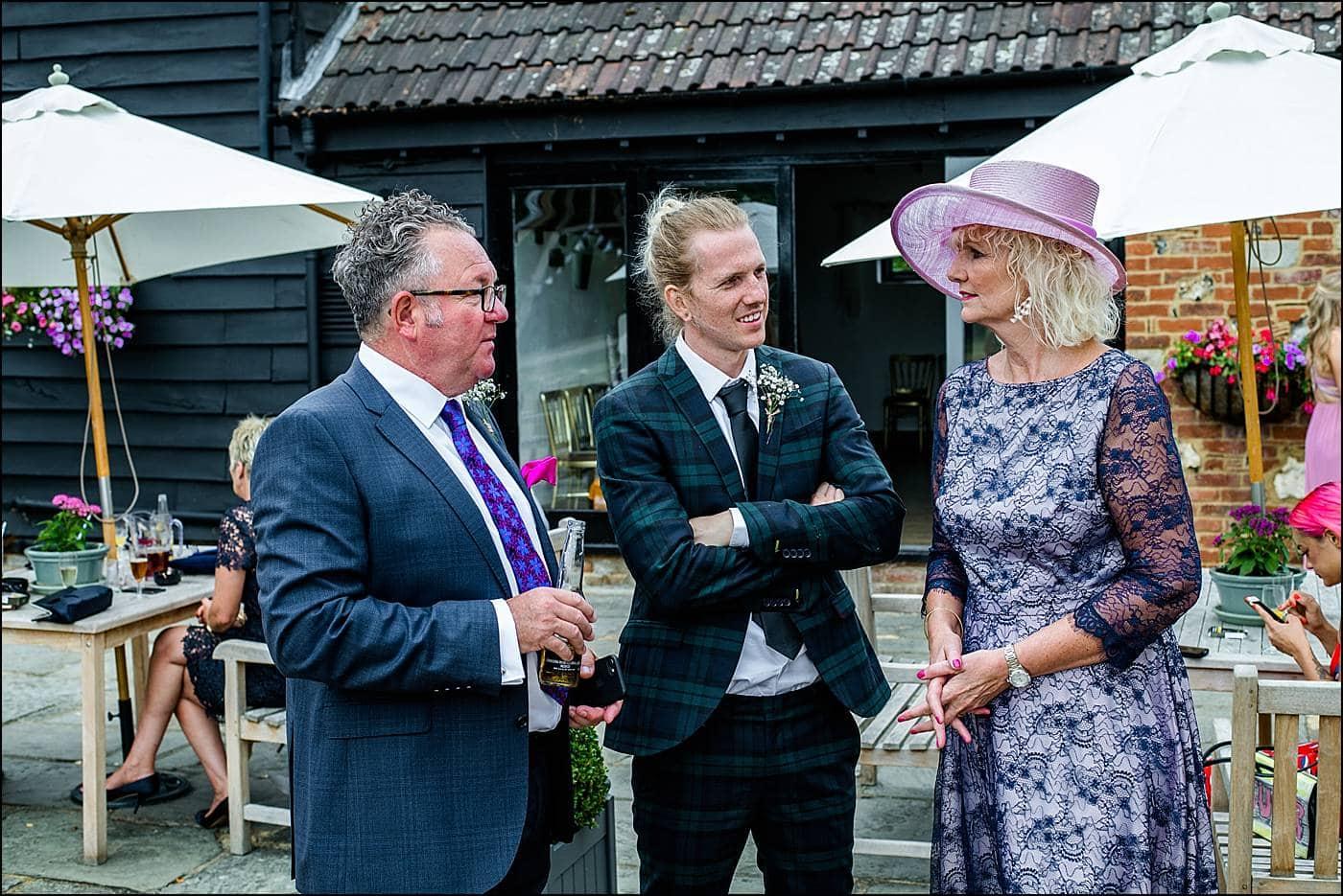 Tudor Barn Wedding Photography 42