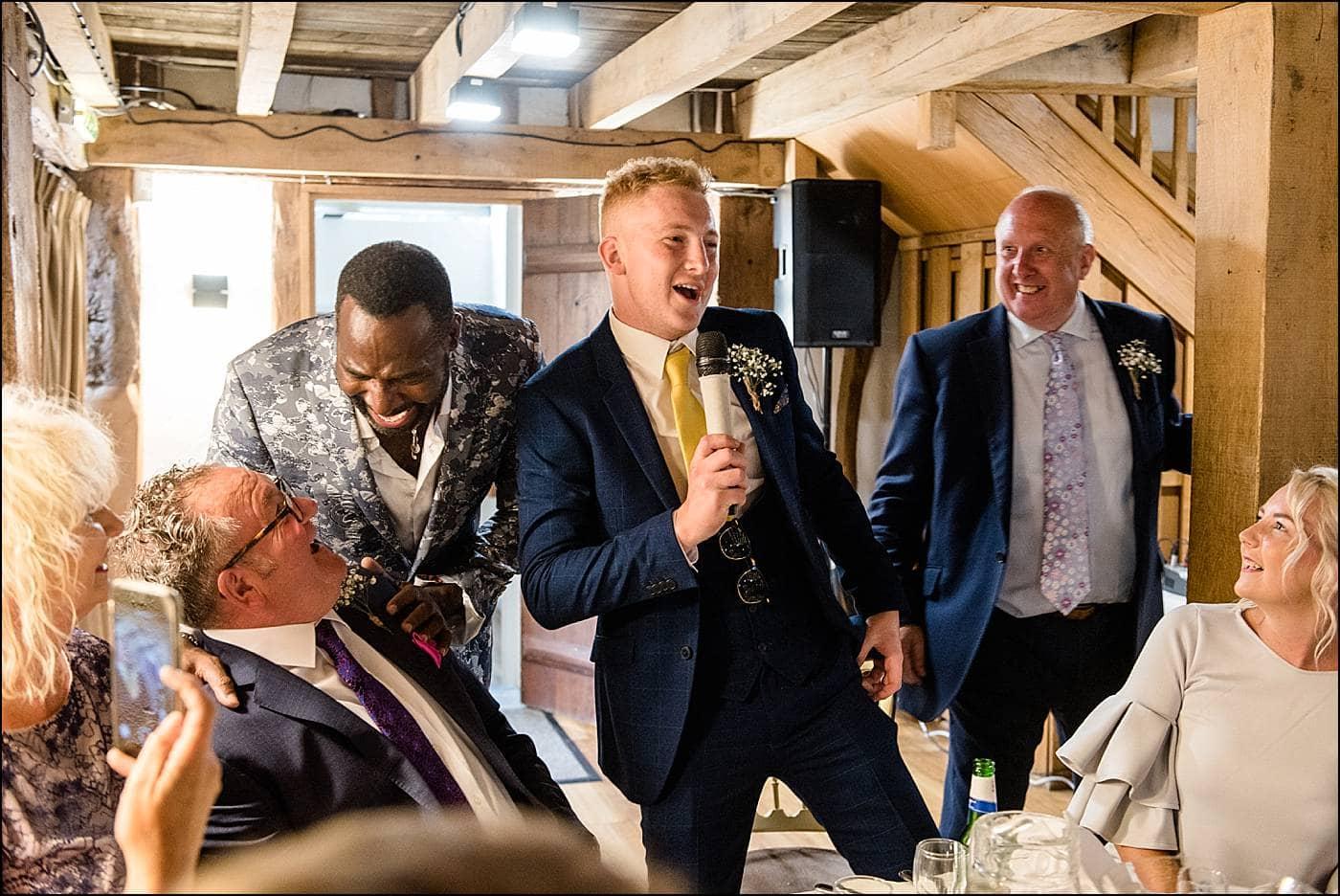 Tudor Barn Wedding Photography 54