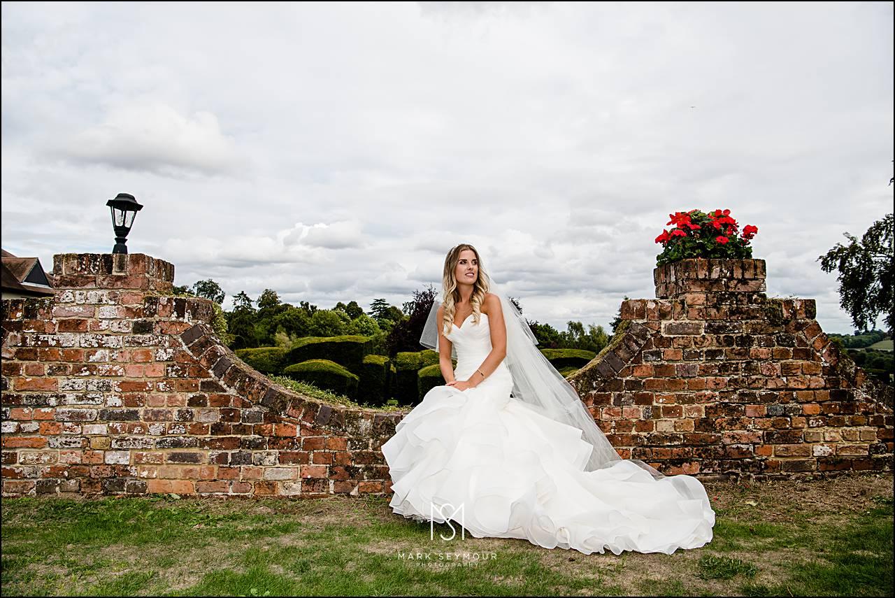 Bride at Danesfield House
