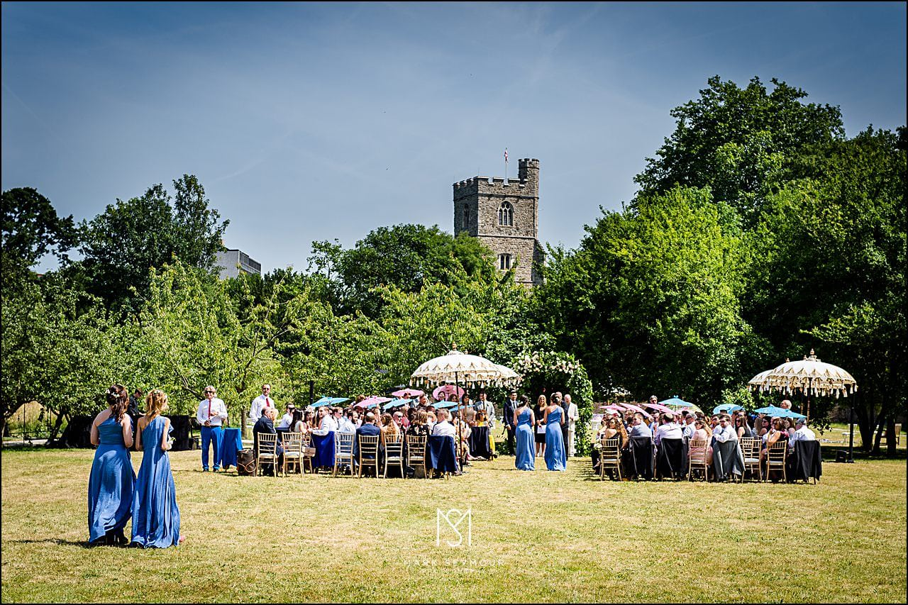 Fulham Palace Wedding Photography 11