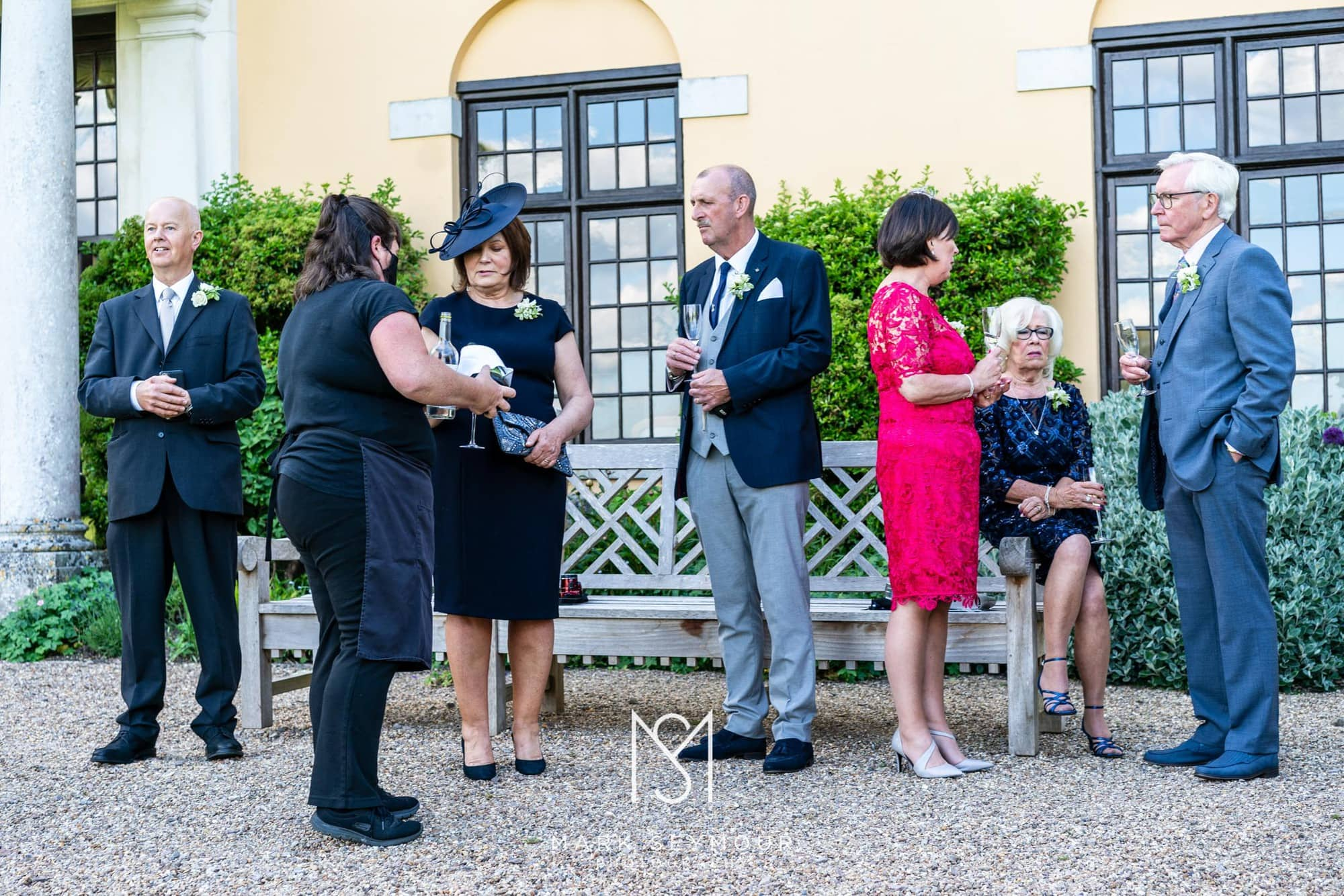 Hampden House Wedding Photography - Hannah and Lee's wedding. 10
