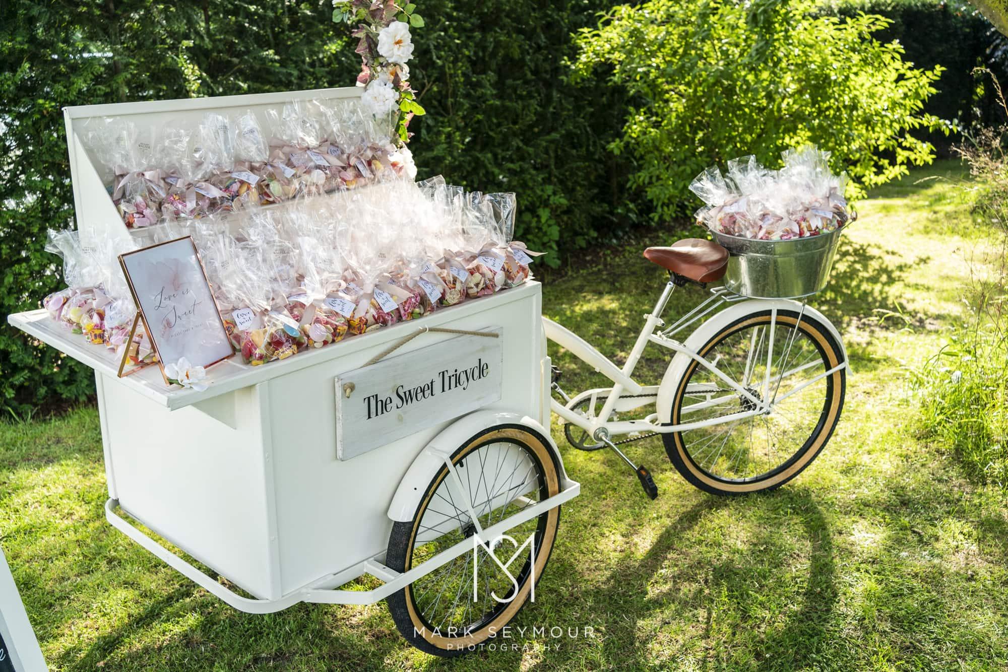 Wedding sweet trolley
