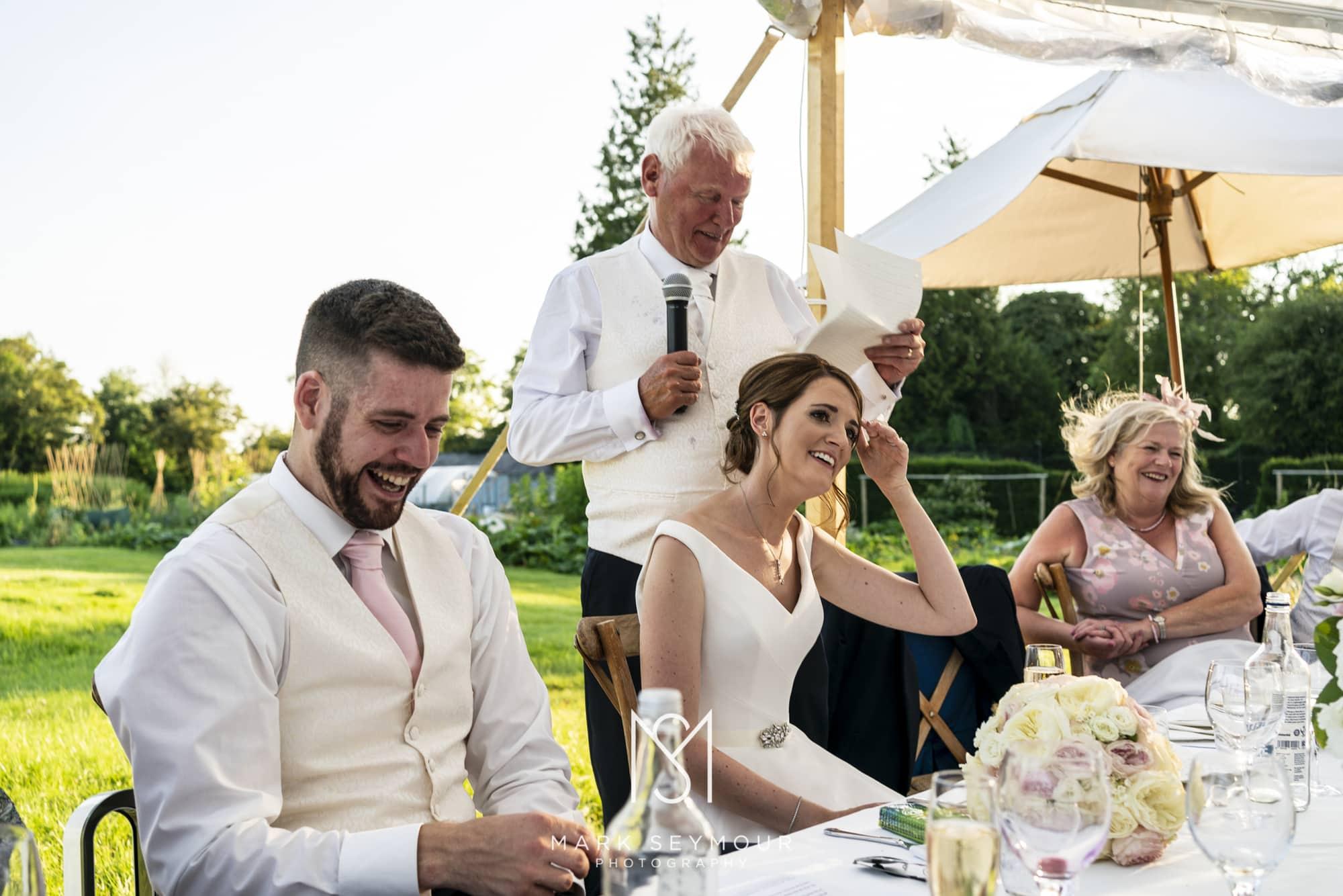 Brides dad speech