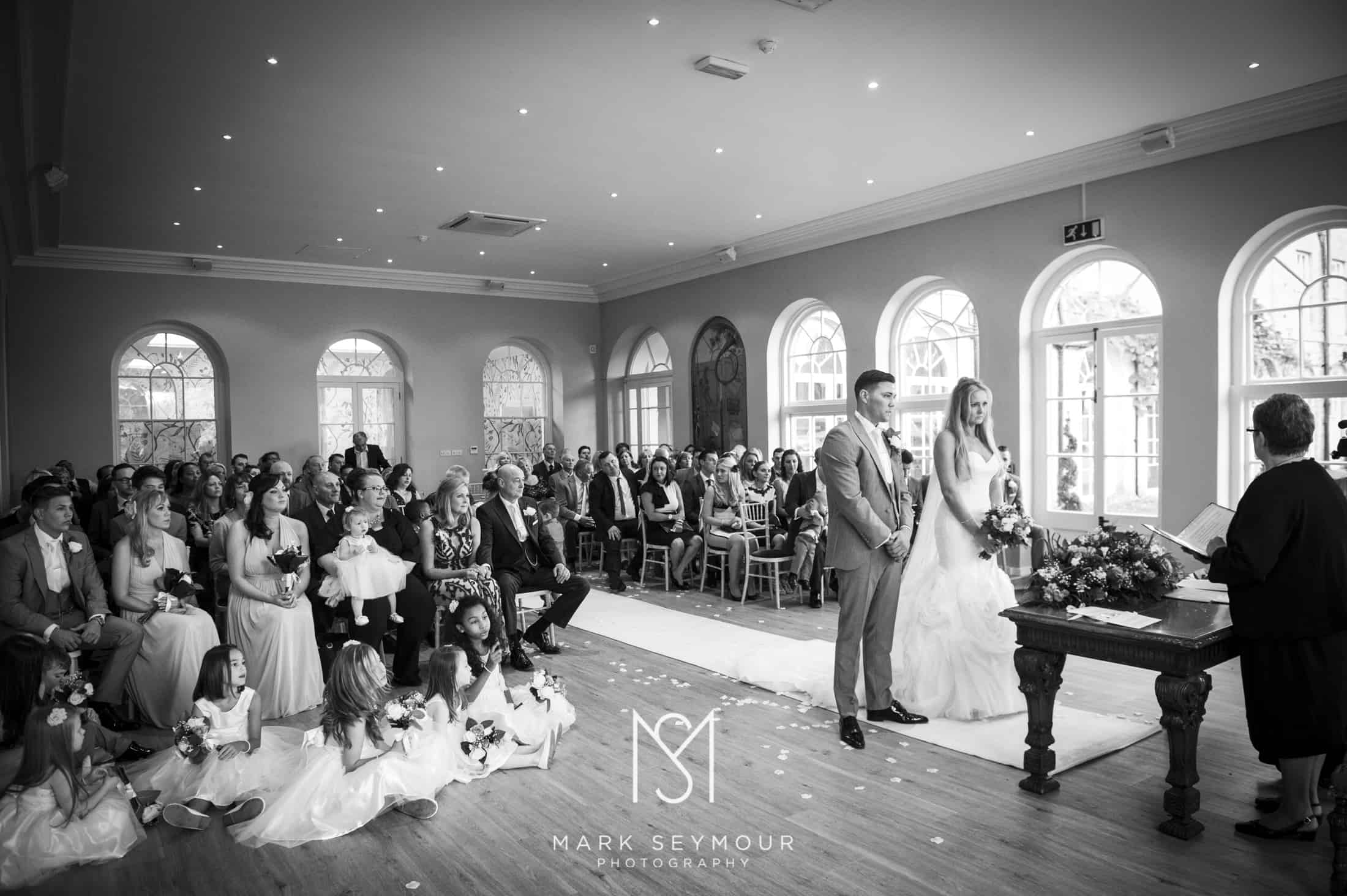 Wedding Ceremony at Braxted Park