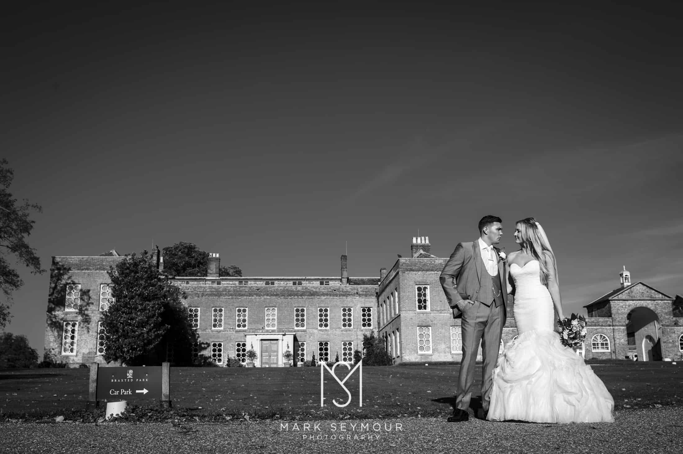 Married at at Braxted Park